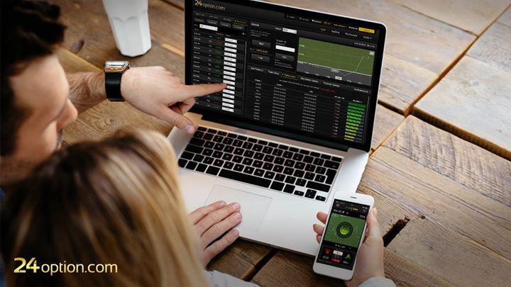 La piattaforma di trading CFD 24otpion